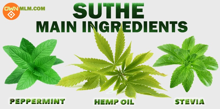 OWN's Suthe natural ingredients
