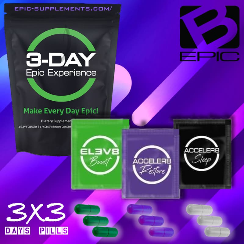 3 Day Epic Experience Pack