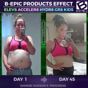 Weight Loss progress with Acceler8 (photo)