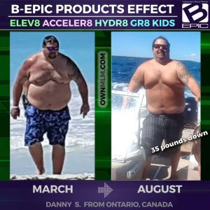 Weight Loss result with Acceler8 by BEpic