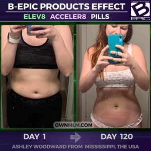 slimming result with b-epic pills (photo)